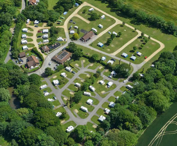 Holidays in britain motorhome sites in england for Blue sea motor inn