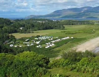 Carradale Bay Caravan Park, Carradale,Argyll and Bute,Scotland