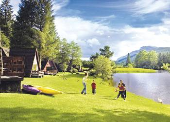 Great Glen Water Park, Kinlochlochy,Highlands,Scotland