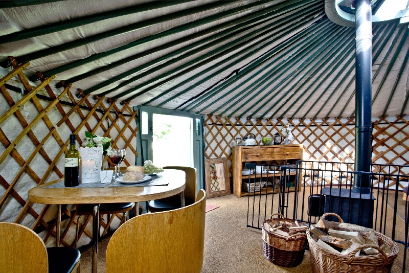 Click here for more about Yurt 6 - East Thorne Farm
