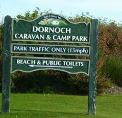 Dornoch Caravan and Camping Park, Dornoch,Highlands,Scotland