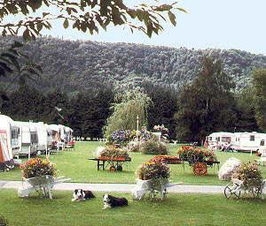 Bodnant Caravan Park, Llanrwst,Conwy,Wales