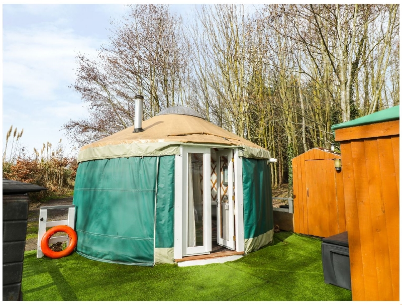 Click here for more about The Lakeside Yurt